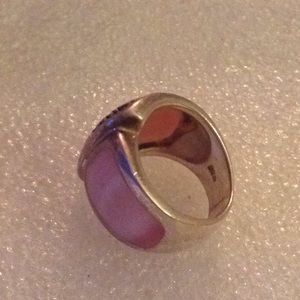 Vintage Jewelry - Vintage 925 diamonds shell ring